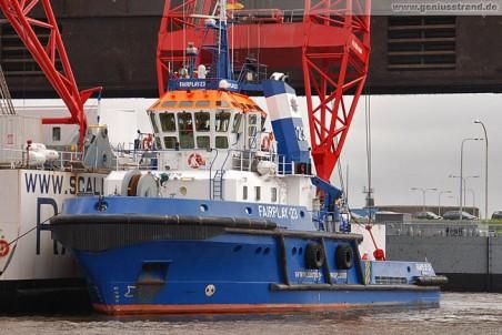 Schlepper Fairplay 23 im Nordhafen von Wilhelmshaven