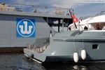 Luxusyacht Radiant erneut in Wilhelmshaven