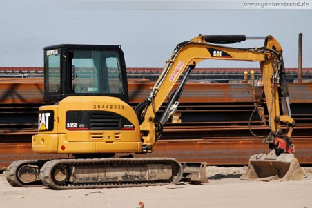Minibagger Caterpillar 305C CR