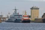 Wohnschiff Wische (Y 895) wird zum Marinearsenal verlegt