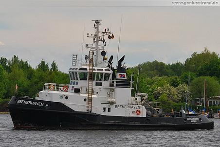 Schlepper Bremerhaven im Nordhafen von Wilhelmshaven