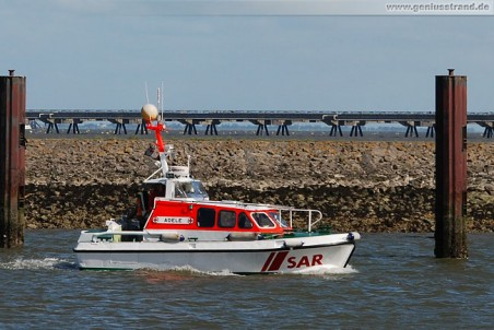 Tochterboot Adele des Seenotrettungskreuzer Vormann Steffens