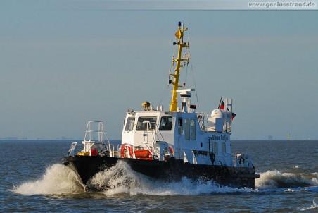 Mehrzweckboot Blaue Balje vom WSA Wilhelmshaven