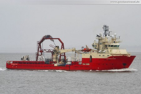 Multi Purpose Supply Vessel (MPSV) Northern River, Ziel Bard Offshore 1