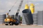 GDF Suez Kraftwerksbaustelle: HDPE-Rohre für die Kraftwerkskühlung