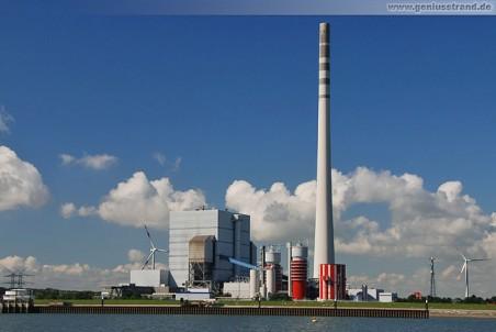 Wilhelmshaven: E.on Kohlekraftwerk im Rüstersieler Groden