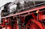 Dampflokomotive 01 1066 vom Ulmer Eisenbahnfreunde e.V. in Wilhelmshaven