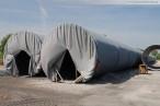 Kraftwerksbaustelle GDF Suez: HDPE-Rohre für die Kraftwerkskühlung