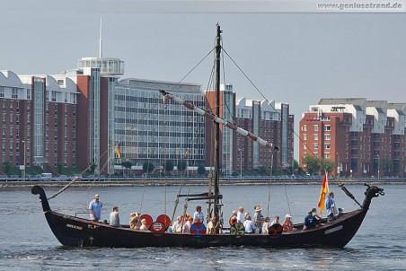 Wikingerschiff Tyrkir beim Wochenende an der Jade 2010