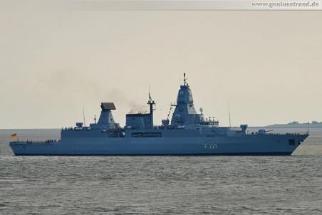 Fregatte Hessen (F 221) zurück vom NATO-Marineverband 1 (SNMG1)