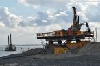 GDF Suez Kraftwerksbaustelle: Baustelle der Kraftwerkskühlung