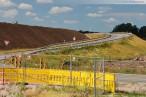 Autobahnanbindung JadeWeserPort: Derzeitige Auf- und Abfahrt