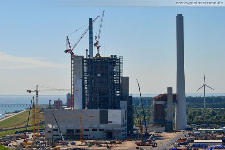 Kraftwerksneubau der GDF Suez Energie Deutschland AG