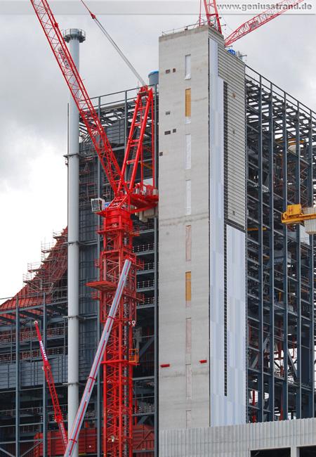 Big Wolff 1250 B wird demontiert