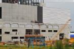 Verkleidungsarbeiten am Kraftwerksneubau der GDF Suez
