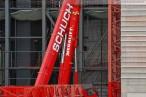 Kraftwerkbaustelle Wilhelmshaven: Big Wolff 1250 B wird demontiert