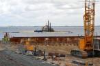 Wilhelmshaven GDF Suez Kraftwerksneubau im Rüstersieler Groden