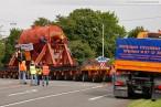 Wilhelmshaven: Schwertransport zum GDF Suez Kraftwerksneubau