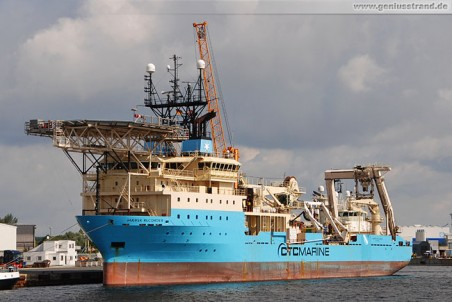 Offshore Construction Vessel (OCV) Maersk Recorder