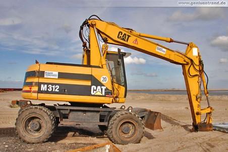 Mobilbagger Caterpillar M 312