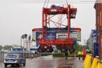 Wilhelmshaven: Van Carrier bekommt neuen Stellplatz neben der Infobox