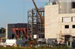 Bilder von der Kraftwerksbaustelle GDF Suez Wilhelmshaven