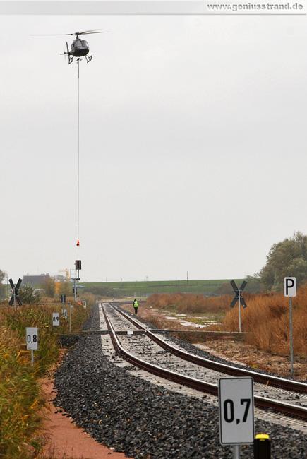 Bahnstrecke zum JadeWeserPort