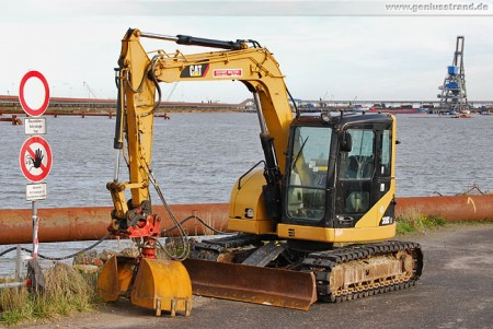 Minibagger Caterpillar 308C CR