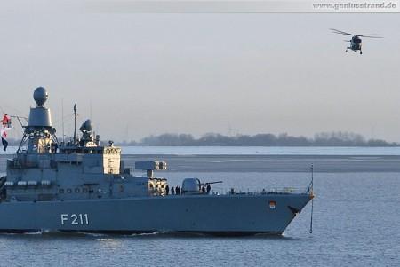 Fregatte Köln (F 211) von Atalanta-Mission zurück