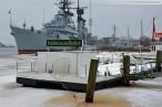 Winterbilder aus Wilhelmshaven 2011 - Marinemuseum