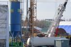Bilder vom Kraftwerksneubau GDF Suez im Rüstersieler Groden