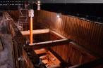 GDF Suez Kraftwerkskühlung: Tunnelbohrmaschine im Zielschacht