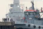 Wilhelmshaven: Fregatte Hamburg (F 220) zurück vom Atalanta-Einsatz