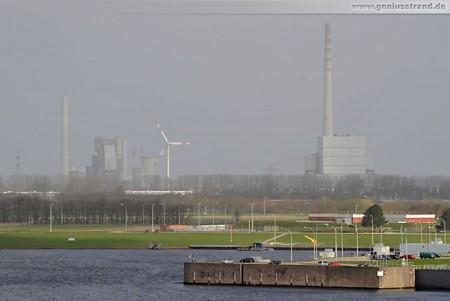 GDF Suez und E.On Steinkohlekraftwerk im Rüstersieler Groden