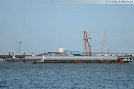 Kraftwerksneubau GDF Suez: Kühlwasserleitungen aus PP stehen bereit