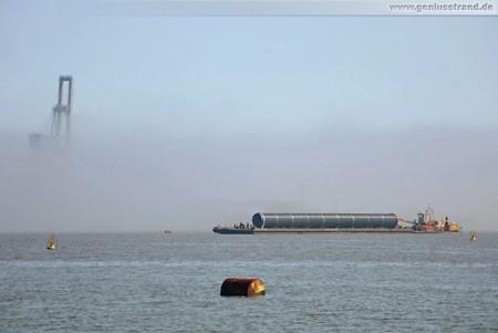 GDF Suez Kraftwerksbaustelle: Weitere PP-Rohre für die Kraftwerkskühlung