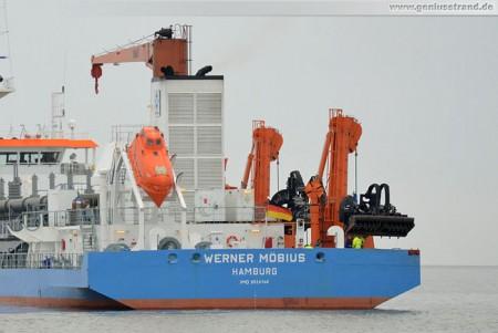 Der Neubau Werner Möbius am JadeWeserPort