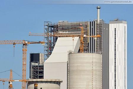 GDF Suez Kraftwerksneubau im Rüstersieler Groden