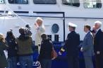 Taufe des Küstenbootes W 5 der Wasserschutzpolizei im Nassauhafen