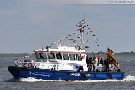 Küstenboot W 5: Neubau für die Wasserschutzpolizei in Wilhelmshaven
