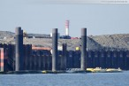 JadeWeserPort Wilhelmshaven: Bilder von der Stromkaje
