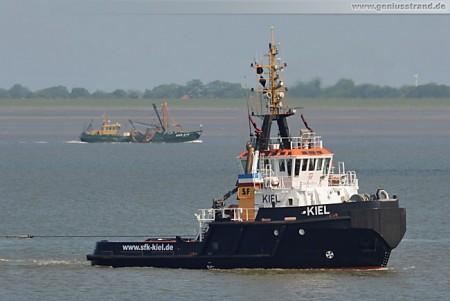 Schlepper Kiel der Schlepp- und Fährgesellschaft Kiel in Wilhelmshaven