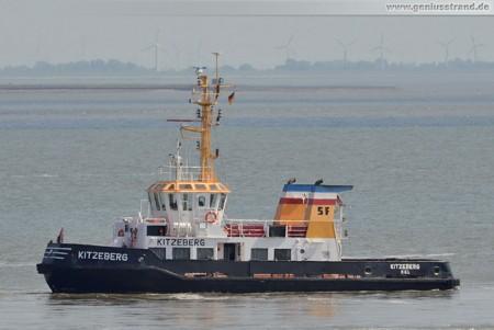 Schlepper Kitzeberg der Schlepp- und Fährgesellschaft Kiel in Wilhelmshaven