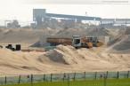 Wilhelmshaven: Bilder von der Baustelle JadeWeserPort
