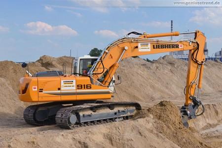 Crawler excavator Liebherr R 916 Litronic