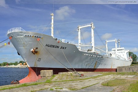 Frachtschiff Hudson Bay