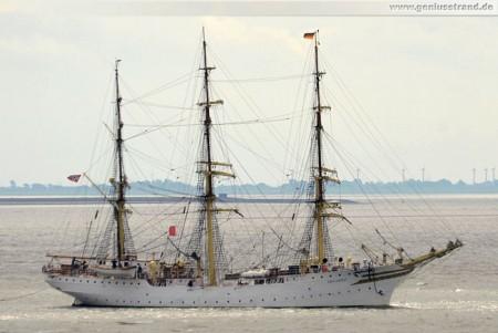 Das norwegische Vollschiff Sørlandet in Wilhelmshaven