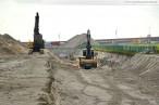 Eurogate-Gelände: Das Entwässerungsystem wird verlegt
