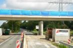 Autobahnanbindung JadeWeserPort: Brückenrückbau am Friesendamm