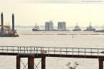 Kühlwasser-Entnahmebauwerk für den Kraftwerksneubau der GDF Suez